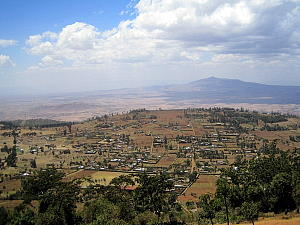 Rift Valley in Kenya